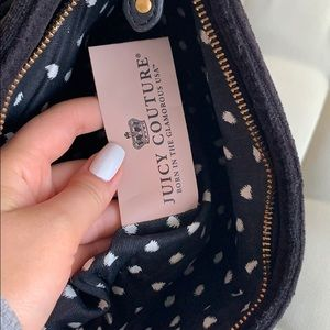 Juicy Couture Bags - Juicy Couture Black Double Zip Clutch
